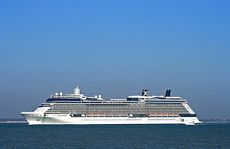 Solstice-class cruise ship - Image: Celebrity Eclipse 1