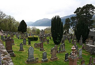 Boleskine House - Boleskine Cemetery in 2007