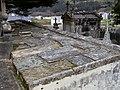 Cemiterio vello de Mondoñedo. Detalle do teito de nichos.jpg