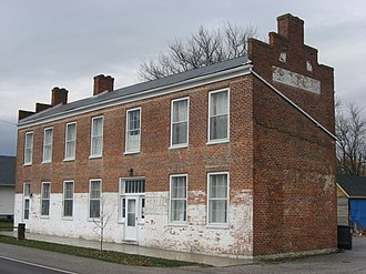 National Register of Historic Places listings in Ripley County, Indiana - Image: Central House in Napoleon