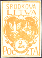 Central Lithuania 1921 MiNr 022B B002.png