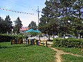 Central square of the town. View from the playground. September 2013. - Центральная площадь посёлка, вид с детской площадки. Сентябрь 2013. - panoramio.jpg