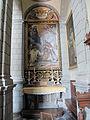 Certosa di fi, chiesa di s. lorenzo, interno, zona dei conversi, Felice Ficherelli Vergine che appare a san Filippo Neri, (1657-1659).JPG