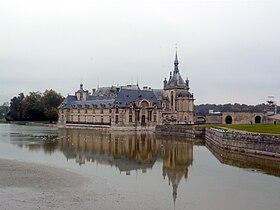 Vue générale du château en 2008.