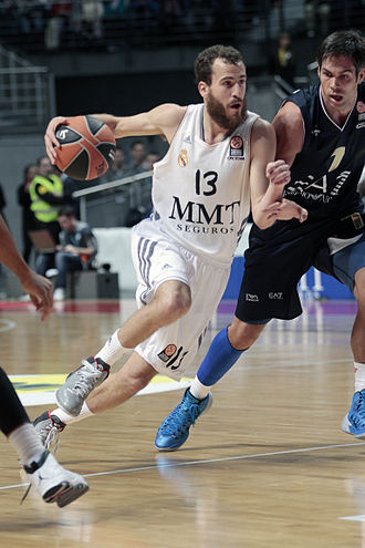 EuroLeague MVP - Sergio Rodríguez won the award in 2014.