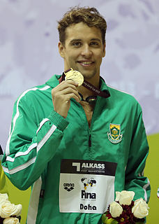 Chad le Clos South African swimmer
