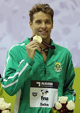 Image illustrative de l'article Chad le Clos