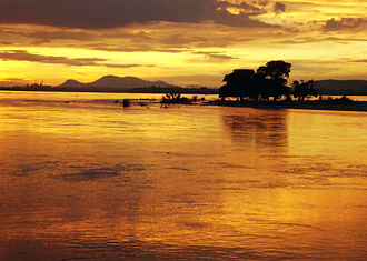 Odisha - Mahanadi river near Cuttack