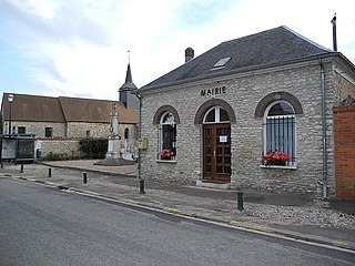 Chaignes Commune in Normandy, France