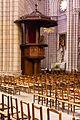 Chaire, Basilique Notre Dame de Bonne Nouvelle, Rennes, France.jpg