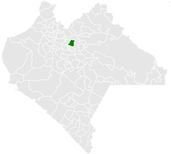 Municipality of Chalchihuitán in Chiapas