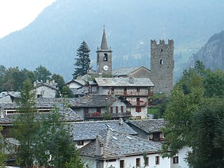 Comune in Aosta Valley, Italy