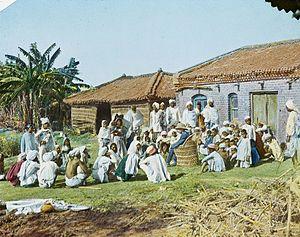 Chanpatia - Chanpatia- Dispensary, India, ca. 1906