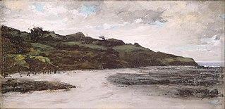 Landschap in Bretagne