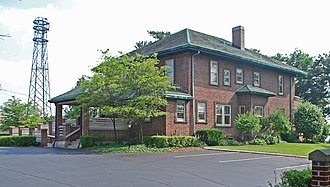 Charles T. Mitchell House - Image: Charles T Mitchell House Cadillac MI