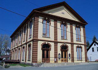 Edward Dow (architect) - Town Hall, Charlestown, 1872.