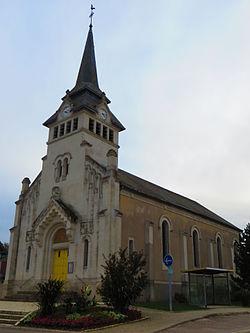 Charny-sur-Meuse l'église Saint-Loup.JPG