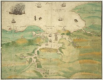 3rd Spanish Armada - Falmouth at the time of invasion