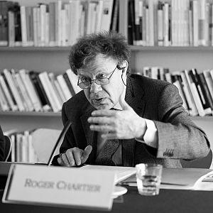 Roger Chartier - Roger Chartier at CEFRES (Centre français de recherche en sciences sociales), Prague, 2011.