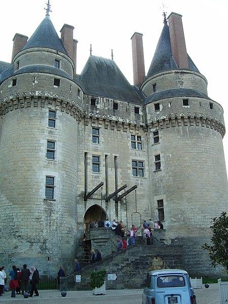 Château de Langeais (France) (XVe siècle)