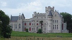 Chateau d'Abbadie, Hendaye, France: a Gothic pile for the natural historian and patron of astronomy Antoine d'Abbadie, 1860–1870; Viollet-le-Duc, architect