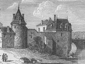Château de la Tournelle - The Château de la Tournelle in the reign of Louis XIII