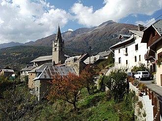 Châteauroux-les-Alpes - The village of Saint-Marcellin, in Châteauroux-les-Alpes
