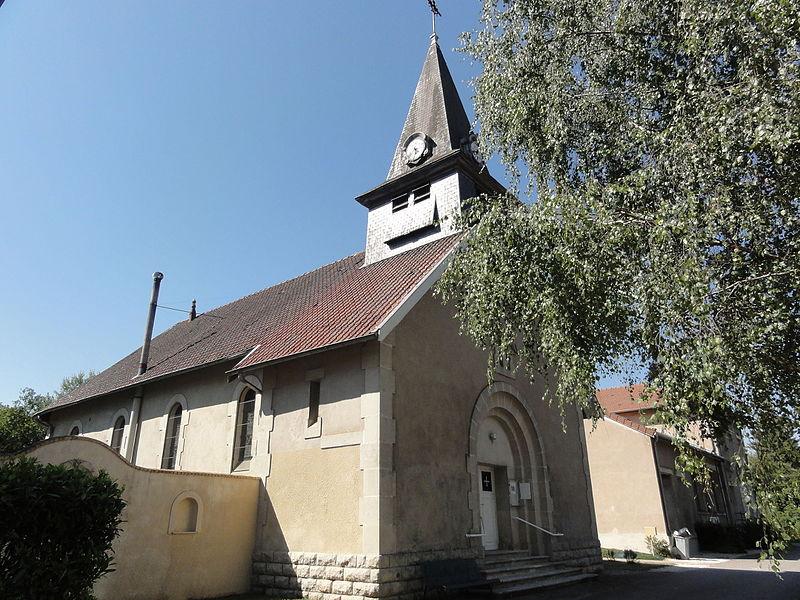 Chattancourt (Meuse) église Saint-Nicolas