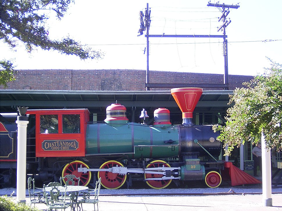 Chattanooga Choo Choo in Terminal Station (Chattanooga)