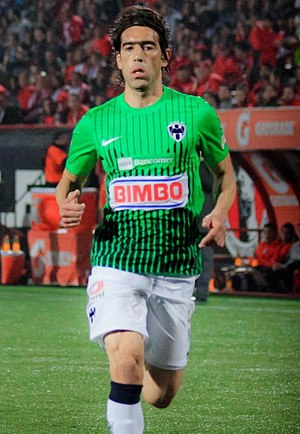 César Delgado - Delgado playing for Monterrey in 2012