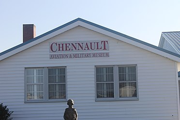 The Chennault Aviation and Military Museum in Monroe Chennault Aviation and Military Museum in Monroe, LA IMG 4155.JPG