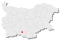 Chepelare location in Bulgaria.png