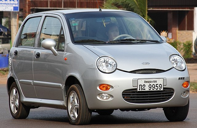 Chery QQ in Pakxe Laos