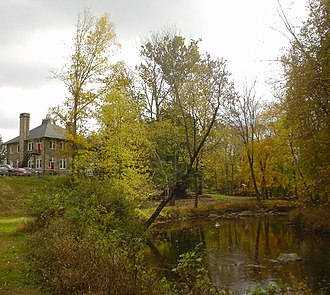 Chester Creek - By the Malvern School in Thornbury Township