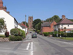 Cheswardine High Street - geograph.org.uk - 1925725.jpg