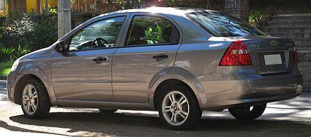 Chevrolet Aveo 1 (T250)