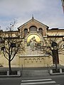 Chiesa di San Martino Vescovo, lapide caduti con mosaico (Paese) 01.jpg