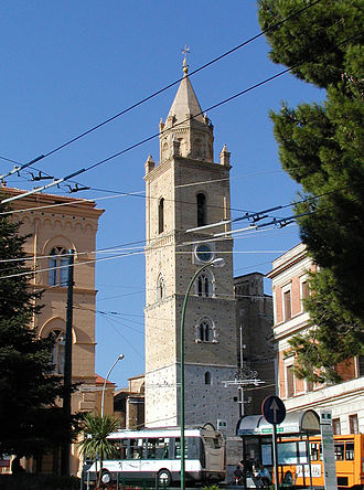 Province of Chieti - The bell tower of the Cathedral of Chieti