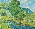 Childe Hassam, Bedford Hills, 1908, oil on canvas. Collection of the Akron Art Museum.jpg