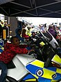 Children on police bikes (9798909773).jpg