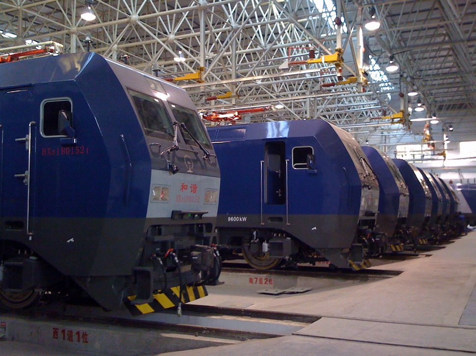 China Railways HXD1B Manufacture Factory