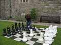 Chirk Castle, Wrexham, Wales, UK -chess set-26May2011.jpg