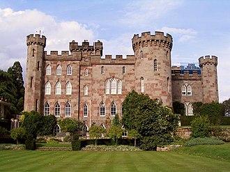 Cholmondeley, Cheshire - Image: Cholmondeley Castle