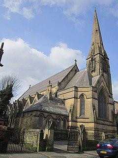 Christ Church, Toxteth Park Church in Merseyside, England