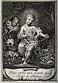 Christ as a young boy displaying his Sacred Heart. Engraving Wellcome V0035625.jpg
