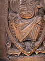 Christ in Majesty surrounded by the Tetramorph in the Basilique Saint-Sernin-IMG 1841.JPG