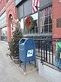 Christmas decorations downtown Saint Johnsbury VT December 2018.jpg