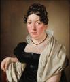 Christoffer Wilhelm Eckersberg - Portræt af konferensrådinde Petrine Sophie Schäffer.png
