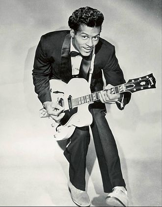 Chuck Berry - Berry in a 1958 publicity photo