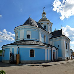 Church of Nativity of the Theotokos, Sambir (01).jpg